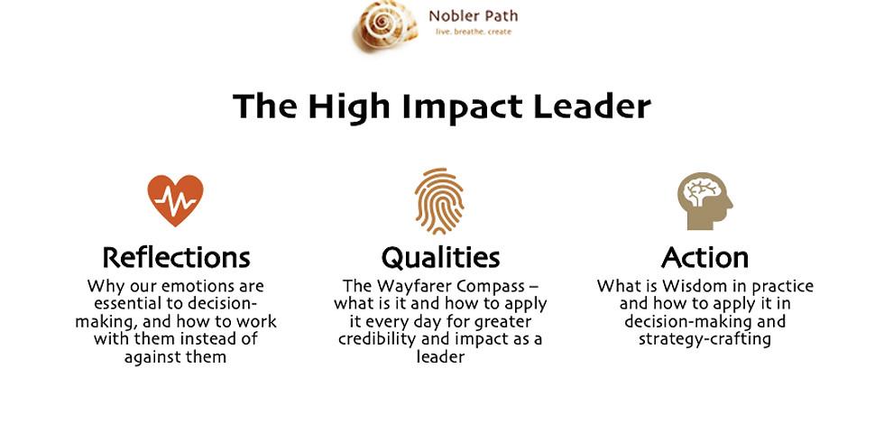 The High Impact Leader Webinar Series