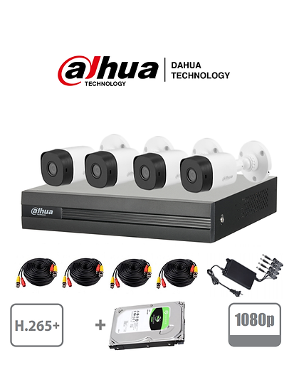 Dahua HD CCTV 4 Channel Kit