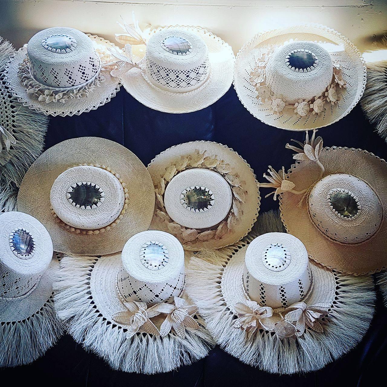 White rito hats