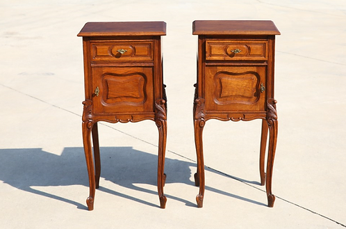 Original French bedside table