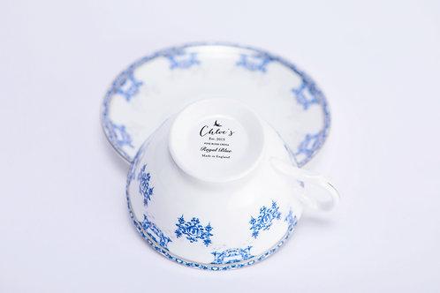 Tea Cup & Saucer 'Regal Blue'
