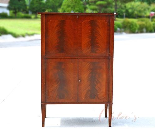 20th Century mah drinks cabinet
