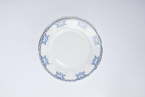 22cm Plate 'Regal Blue'