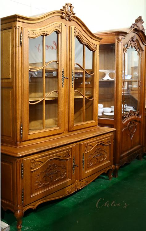 Original French Display cabinet