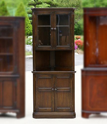 Antique Ercol corner cabinet