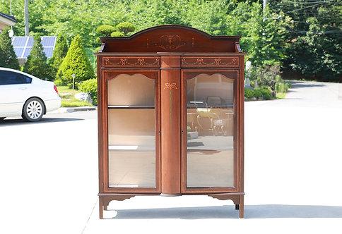 UK antique glass cabinet