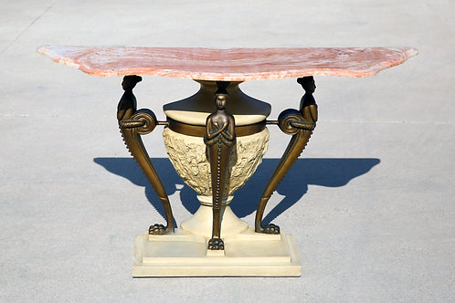Vintage marble console