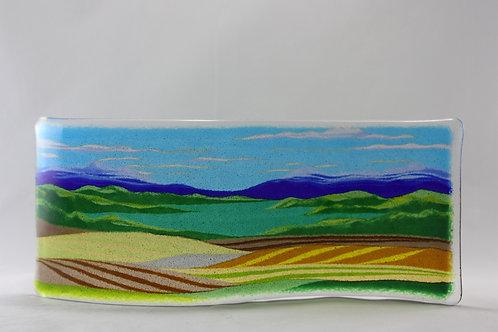 Glass Landscape Tapestry