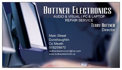 Buttner Electronics Audio Visual Repair Services Dunshaughlin Meath