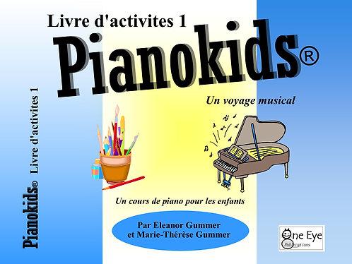 Pianokids® Livre d'activites 1