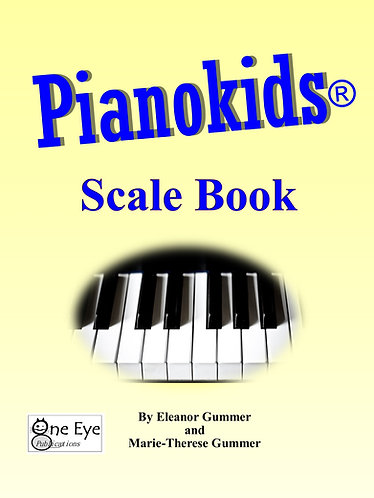 Pianokids® Scale Book 5 pack