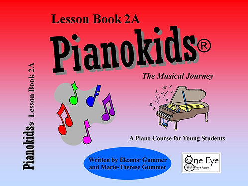 Pianokids® Lesson Book 2A