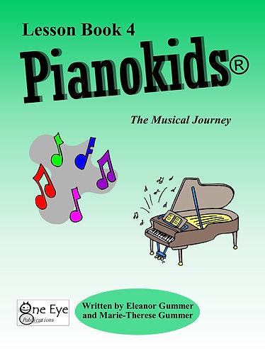 Pianokids® Lesson Book 4