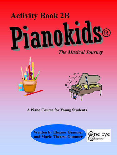 Pianokids® Activity Book 2B