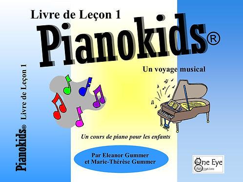 Pianokids® Livre de Lecon 1