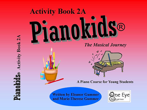Pianokids® Activity Book 2A