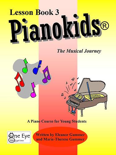 Pianokids® Lesson Book 3