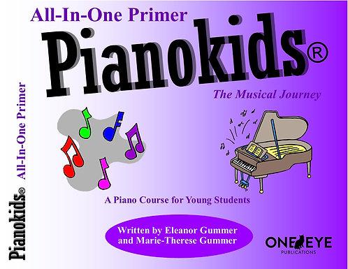 Pianokids® All-In-One Primer Book