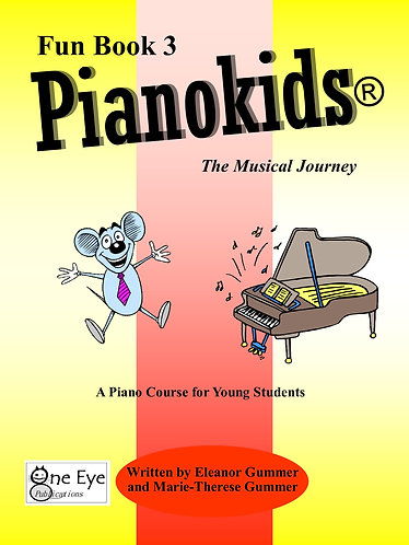 Pianokids® Fun Book 3