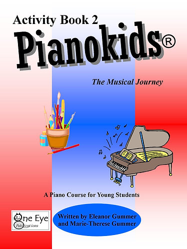 Pianokids® Activity Book 2 for the Older Beginner