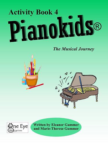 Pianokids® Activity Book 4