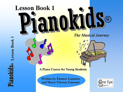 Pianokids® Level 1 Lesson Book