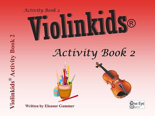 Violinkids® Activity Book 2