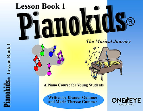 Pianokids® Level 1 Lesson Book
