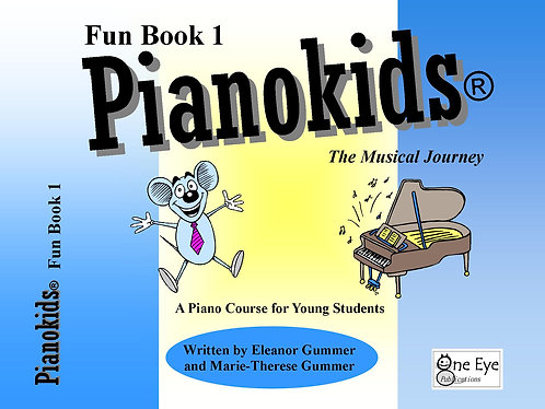 Pianokids® Fun Book 1