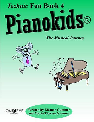 Pianokids® Technic Fun Book 4