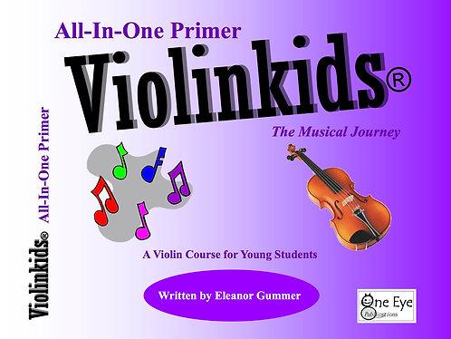 Violinkids® All-In-One Primer Book