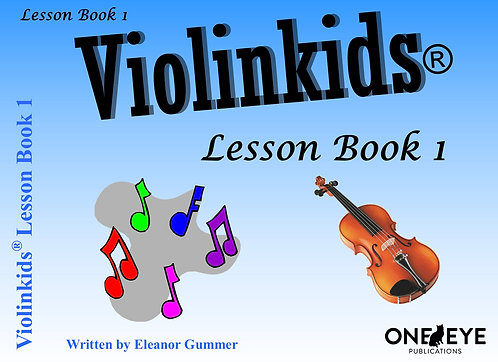Violinkids® Lesson Book 1