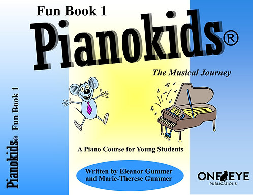Pianokids® Fun Book 1