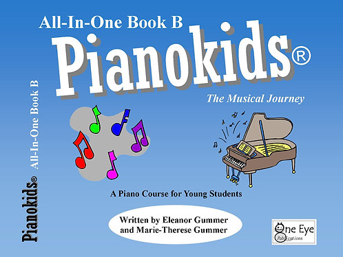 Pianokids® All-In-One Level 1B