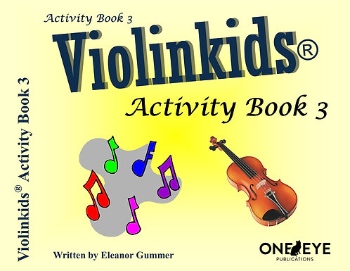 Violinkids® Activity Book 3