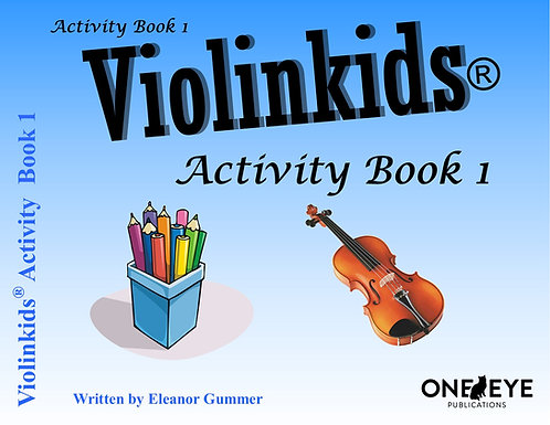 Violinkids® Activity Book 1