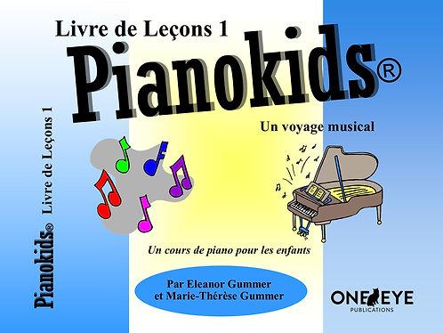 Pianokids® Livre de Leçons 1