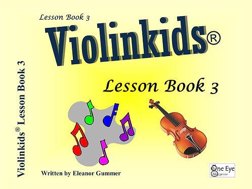 Violinkids® Lesson Book 3