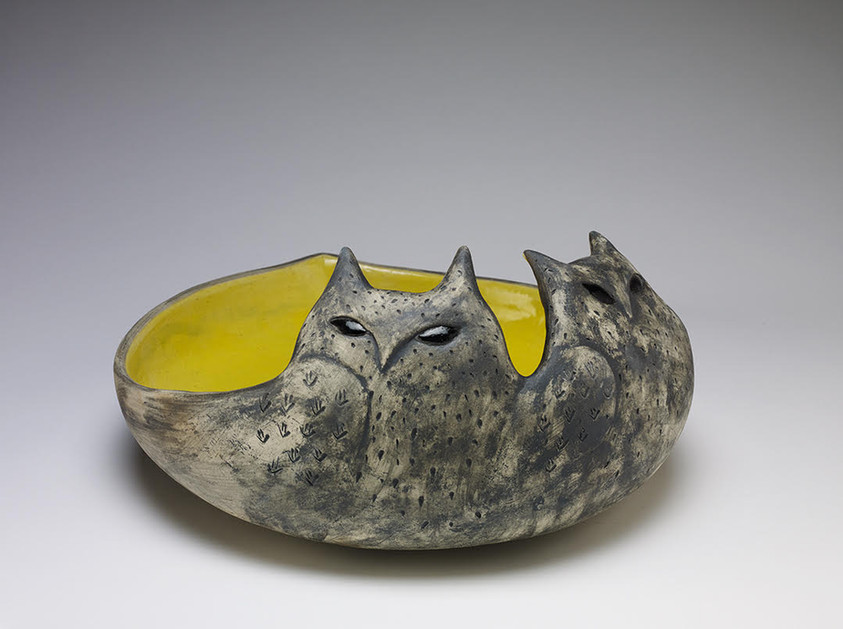Two owls low bowl.jpg