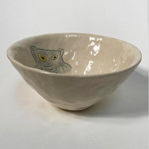 Grey Monkey Small Tall Bowl