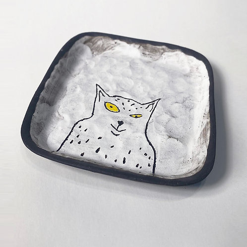 White Cat, small plate