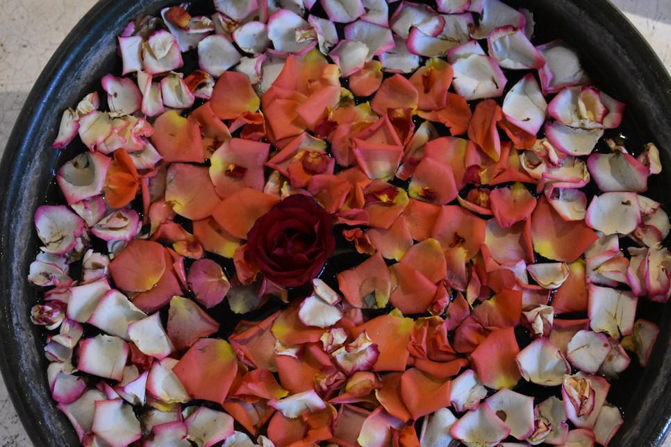 Oaxacan flower decoration