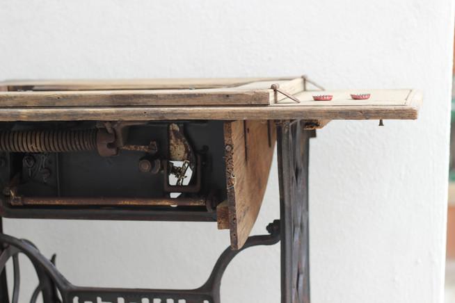 Sewing machine decoration