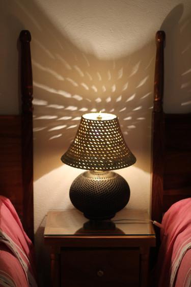 """Lamp from """"San Bartolo Coyotepec"""""""