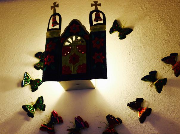 """Hojalata"" decoration"