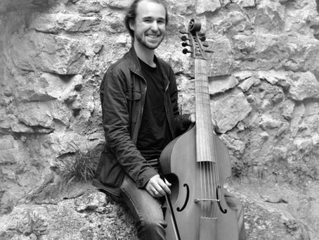 20 questions for viol player Harry Buckoke!
