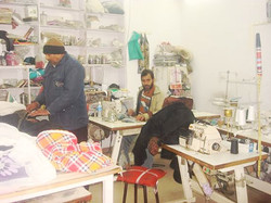 Stitching and Sewing department