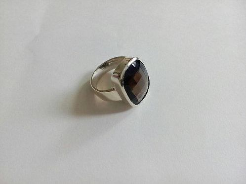 Кольцо.Раухтопаз.