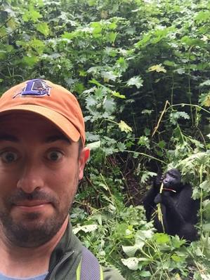 #2 Nate Swick and... a Mountain Gorilla