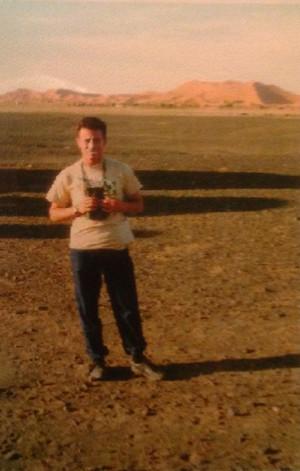 Stuck in the Sahara
